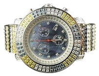 Joe Rodeo Joe Rodeo Jojo Aqua Kc Custom Multi Color Diamond Watch