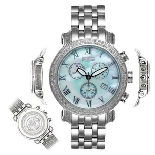 Joe Rodeo Mens Diamond Watch Joe Rodeo Classic Jcl18 Ct Illusion Dial Mother Of Pearl