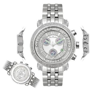 Joe Rodeo Mens Diamond Watch Joe Rodeo Classic Jcl53w 1.75 Ct Illusion Dial