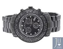 Joe Rodeo Mens Joe Rodeojojo Junior 120 Black Pvd Jju 148 Black Diamond Watch 4.75ct