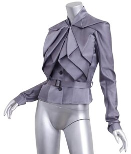 John Galliano Womens Purple Jacket