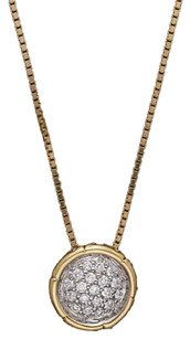 John Hardy bamboo Pave Diamond John Hardy Necklace