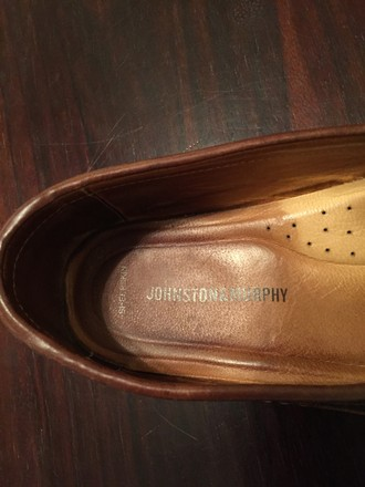 Johnston & Murphy Mens Two Tone Loafer
