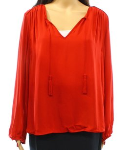 Joie 100% Silk Long Sleeve Top