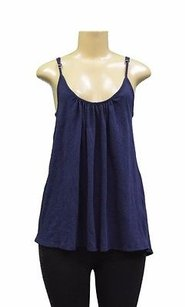Joie Soft By Peacoat Top Navy Blue