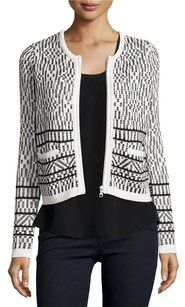 Joie Jacolyn Jacquard Tweet Black Jacket