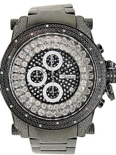JoJino Icy Mens Mens Jojojojinojoe Rodeo Genuine Real Diamond Watch Mj-8003