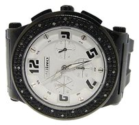 JoJino Mens Rubber Band Jojojojino Diamond Watch .25 Ct