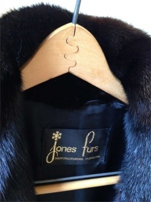 Jones Fur Manufacturing Furriers