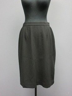 Jones New York Platinum Lined A Line Sm293 Skirt Black