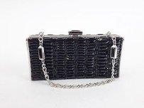 Judith Leiber Black Beaded Max059565 Clutch