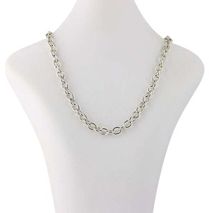 Judith Ripka Judith Ripka Cable Chain Necklace 17 12 - Sterling Silver Lobster Claw Clasp