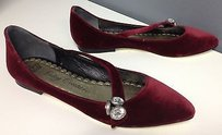 Juicy Couture Abbie Ruby Red Flats