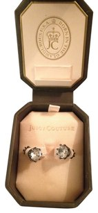Juicy Couture E-BLK DIAMND PRINCESS STUDS