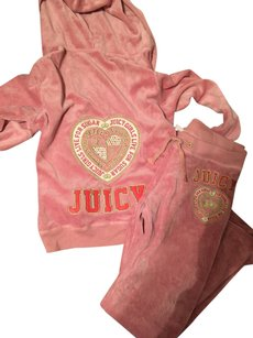 Juicy Couture logo on jacket and pants