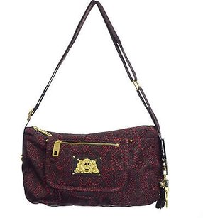 Juicy Couture Snake Nylon Cross Body Bag