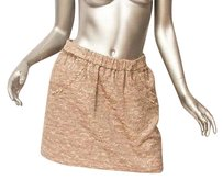 Juicy Couture Bird By Womens Mini Skirt Metallics