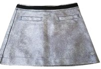 Juicy Couture Mini Skirt Silver