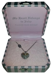 Juicy Couture Juicy Couture - N-Pave Heart Wish Necklace