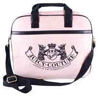Juicy Couture Rhinestones Pink Messenger Bag