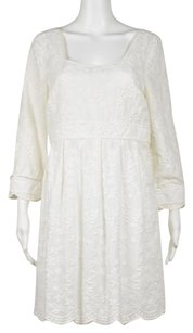 Juicy Couture Womens Embroidered Long Sleeve Above Knee Sheath Dress