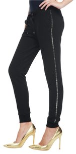 Juicy Couture Straight Pants Black