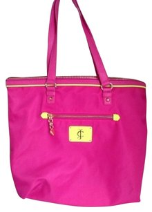 Juicy Couture Tote in Hot Pink
