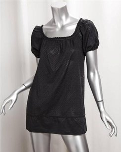 Juicy Couture Womens Cotton Shirt Blouse P Tunic