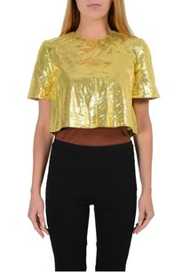 Just Cavalli Bolero Shrug Gold Jacket