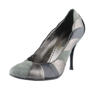 Just Cavalli Classics Gray Pumps