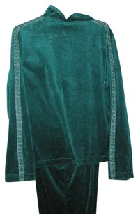 Kaktus Teal velour leisure suit. Never beenworn
