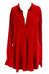 Karen Kane Good Womens Top red