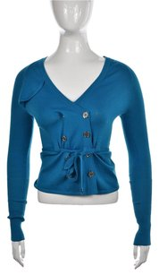 Karen Millen Womens Cardigan 1 Cotton Casual Shirt Sweater