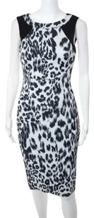 Karen Millen short dress Grey Black on Tradesy