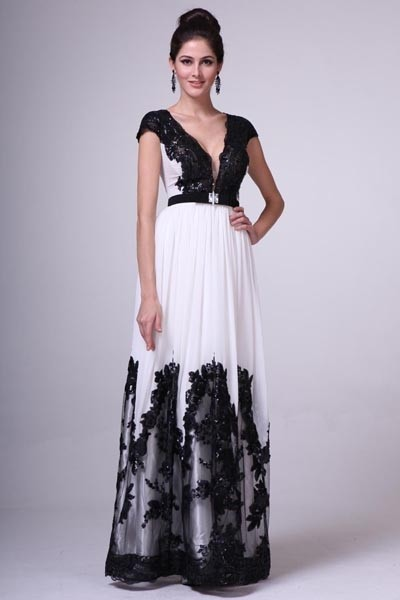 black and white wedding dresses for sale p r i m a glitz by kari chang 17 1411 black and white 1824