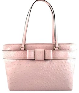 Kate Spade Leather Bridged Tote in Pink