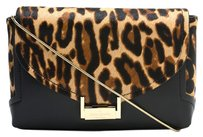 Kate Spade Leopard Animal Print Night Out Pony Hair Cross Body Bag