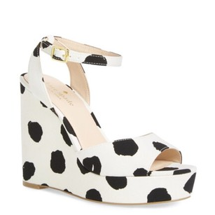 Kate Spade Black & White Sandals