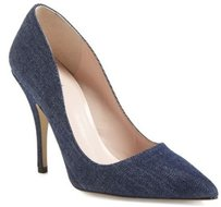 Kate Spade York Licorice Too Blue Pumps