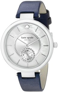 Kate Spade Kate Spade 1YRU0750 White MOP Dial Leather Strap Women's Watch