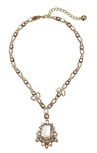 Kate Spade Kate Spade Formal Facets Crystal Statement Necklace Wbru9288