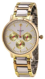 Kate Spade kate spade new york Women's Grand Gold Ion-Plated Watch NEW!