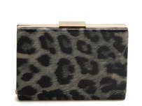 Kate Spade Leather Photo Leopard Clutch