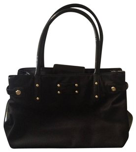 Kate Spade Nylon Small Tote in Black