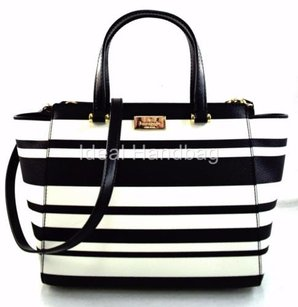 Kate Spade Annelle Arbour Satchel in Black