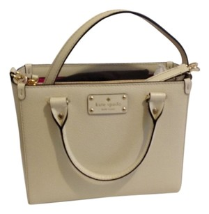 Kate Spade Satchel in bone