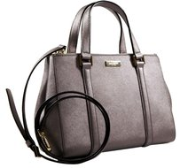 Kate Spade Satchel in Silver Metallic