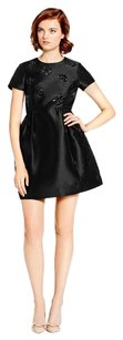 Kate Spade Silk Bow Embellished Rhinestone Dress