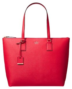 Kate Spade Tote in rooster red