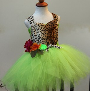 Katy Perry Roar Inspired Dress - Jungle Theme Dress - Katy Perry Inspired Dress